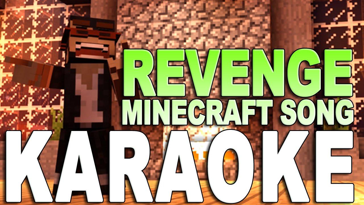 """MINECRAFT SONG Instrumental / Karaoke: """"Revenge"""" (NEW 11 Revenge 11.11)"""
