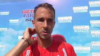 Lukáš Rosol po vítězství v semifinále Rieter Open Pardubice 2018