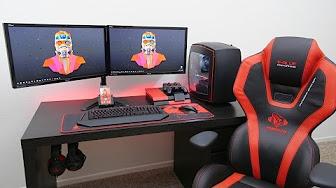 The Perfect Desk Setup Youtube