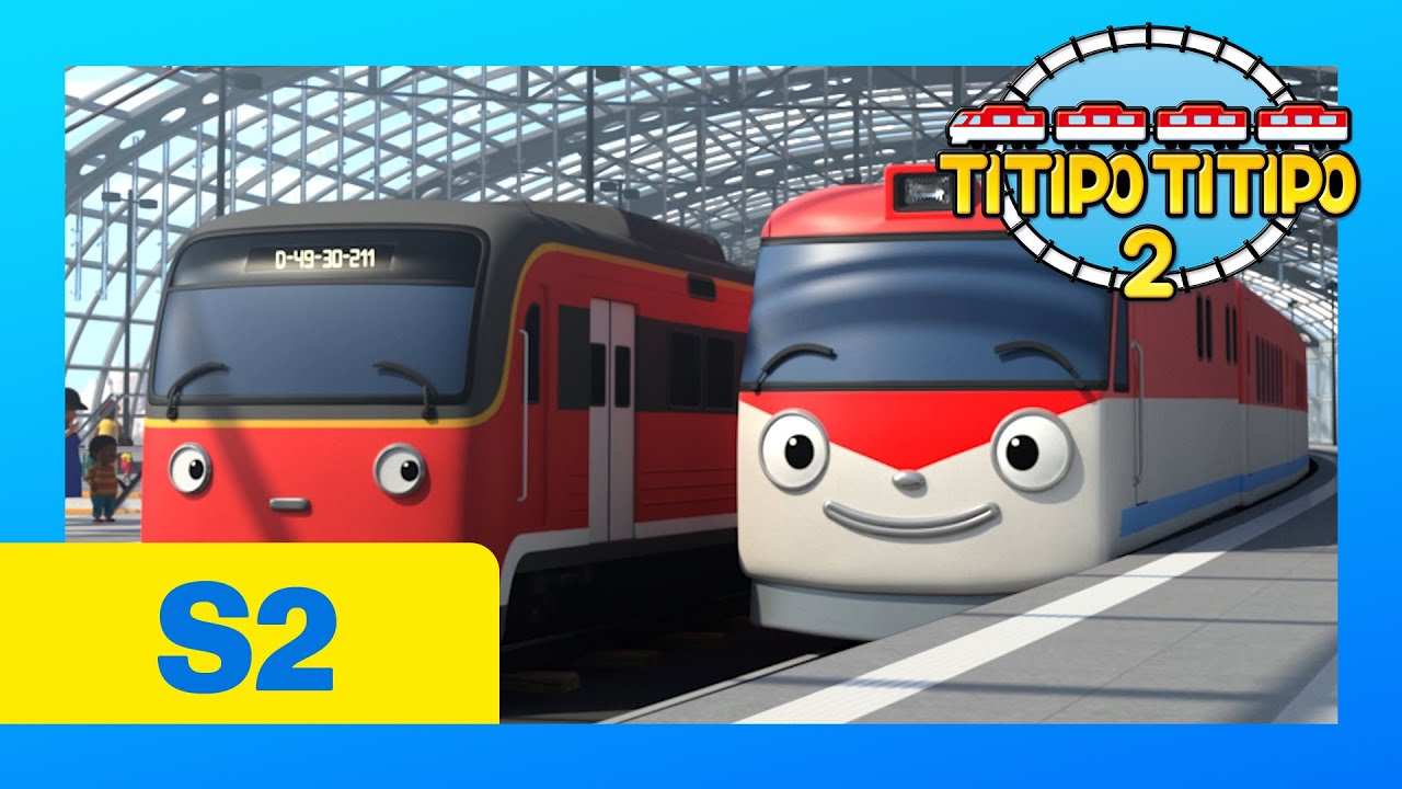 TITIPO S2 EP2 l A Long Haul (Part 2) l Titipo meets a new friend l Trains for kids l TITIPO TITIPO 2