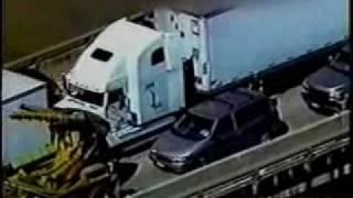 A very dangerous Semi-Truck Police Pursuit
