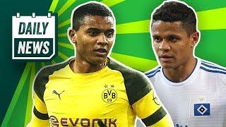 Gladbach: Hazard-Ersatz gefunden? BVB ohne Verteidiger! 😱Tottenham will Barcelonas Malcom!