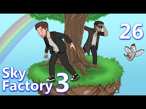 Minecraft: Sky Factory 3 w/ CaptainSparklez - Ep 26 - BUILD