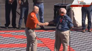Fred Telling - President RARA, Welcoming Ceremony, Fan Day - Reno Air Races 2018