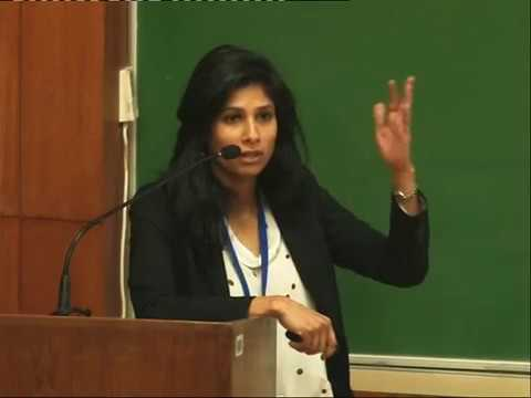 Plenary Talk by Gita Gopinath on 19.12.2016, ISI Delhi [1/3]