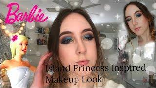Barbie Island Princess Makeup Tutorial