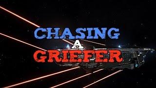 Chasing a griefer (PvP) - Elite Dangerous