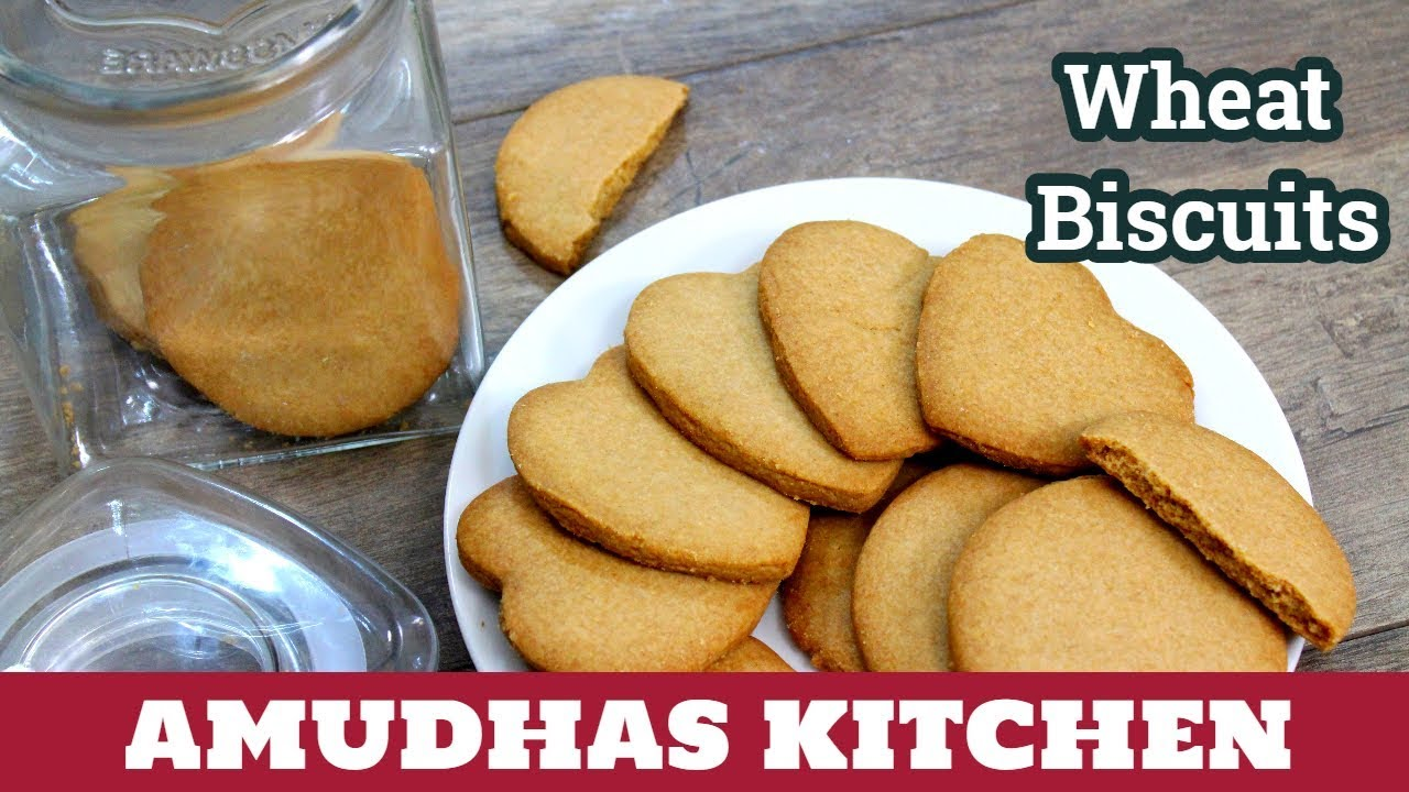 Homemade Wheat Biscuits in Tamil | How to make Atta Biscuits | Bakery Salt  Biscuits