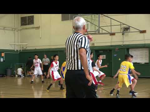SVBC vs Saber Titans May 26, 2018 @Peter Burnett Middle School 1