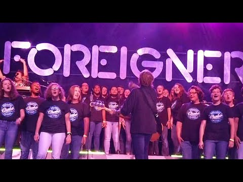 Christiansburg High School choir gets to rock with Foreigner