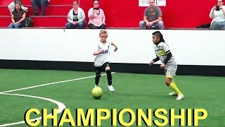 ⚽️Championship Indoor Soccer Game with NO SUBS!!⚽️