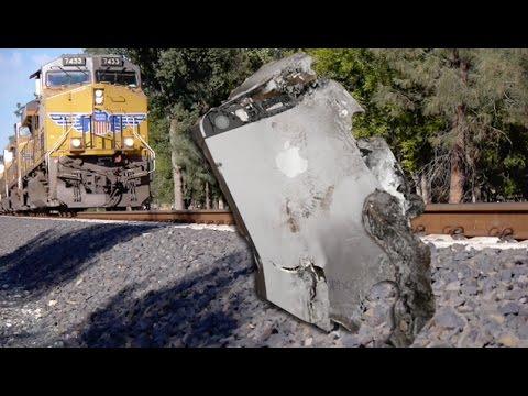 iPhone 5S vs Train - Will it Survive?