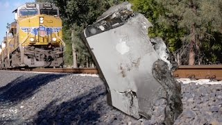 iPhone 5S vs Train - Will it Survive?