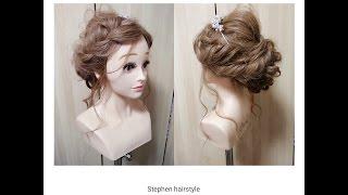 Stephen 新娘髮型分享 - 韓風空氣感編髮髮型