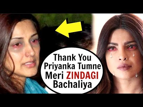 Sonali Bendre EMOTIONAL Message To Priyanka Chopra For Helping Her With Cancer Treatment Mp3