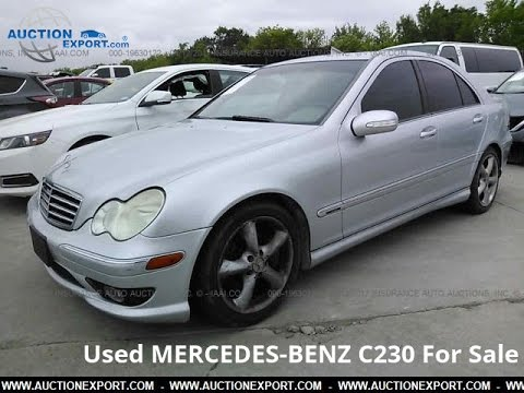 Used Mercedes Benz C230 for Sale in USA, Shipping to Nigeria