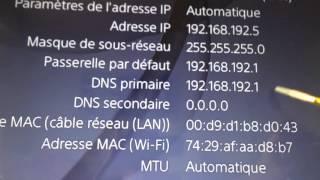 Optimisation1 IP fixe PS4