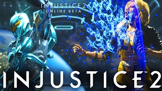 """Injustice 2: INSANELY CLOSE MATCHES #HYPE! - Injustice 2 """"Blue Beetle"""" Gameplay"""