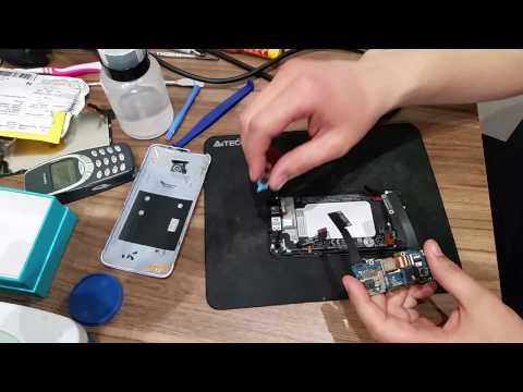 Замена дисплейного модуля и камеры HTC Butterfly s 901s!