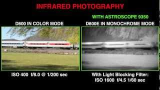 Ultra-Low Light & Infrared Photography With The Nikon D800 And Astroscope 9350
