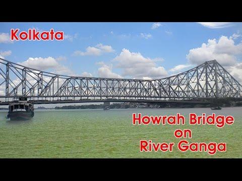 Howrah Bridge on River Ganga | Kolkata City | India thumbnail