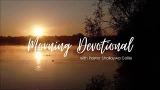 Morning Devotional Broken Relationships
