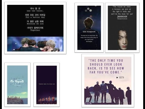 KPOP_BTS ARMY_HOW TO MAKE AND PRINT KPOP BTS NOTEBOOK COVER_BACK TO SCHOOL DIY