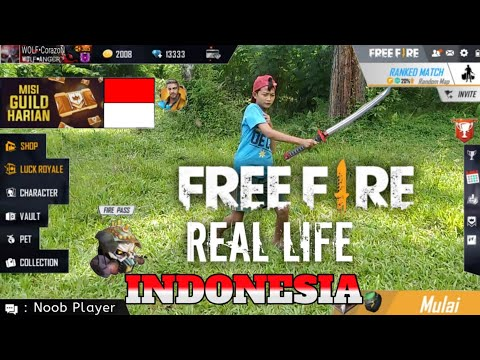 FREE FIRE REAL LIFE INDONESIA - Solo Ranked
