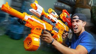 NERF Junkyard Build Your Weapon Challenge!