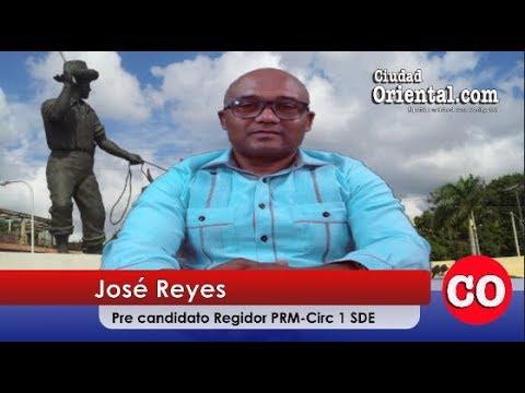 Entrevista a José Reyes, pre candidato a Regidor SDE ¨RM Circ.1