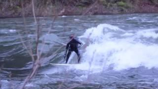 River Surfing Oregon 2017 - Lake Creek