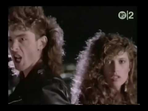 RANDY WAYNE & CAROL SUE HILL : That Was Then, This Is Now (official video1985)