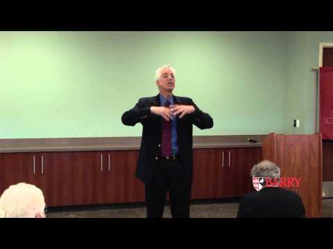 Barry University Speaker Series: Jan Schlichtmann long