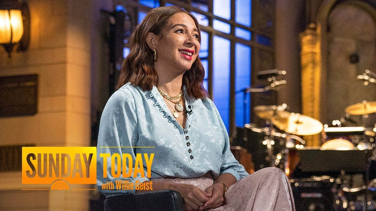 Maya Rudolph's 'SNL' Roots Are Still A Big Part Of Her Life And Career | Sunday TODAY