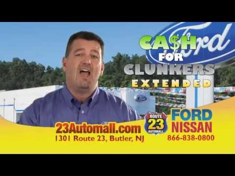 Route 23 Automall >> Route 23 Automall Butler N J Cash For Clunkers Program