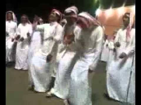 Arab traditional dance - South Saudi - (Bani Shehr tribe)
