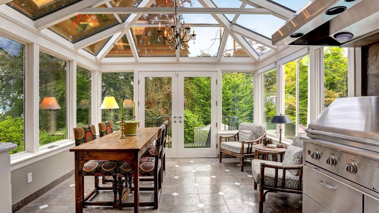 Small Conservatory Decorating Ideas UK - YouTube