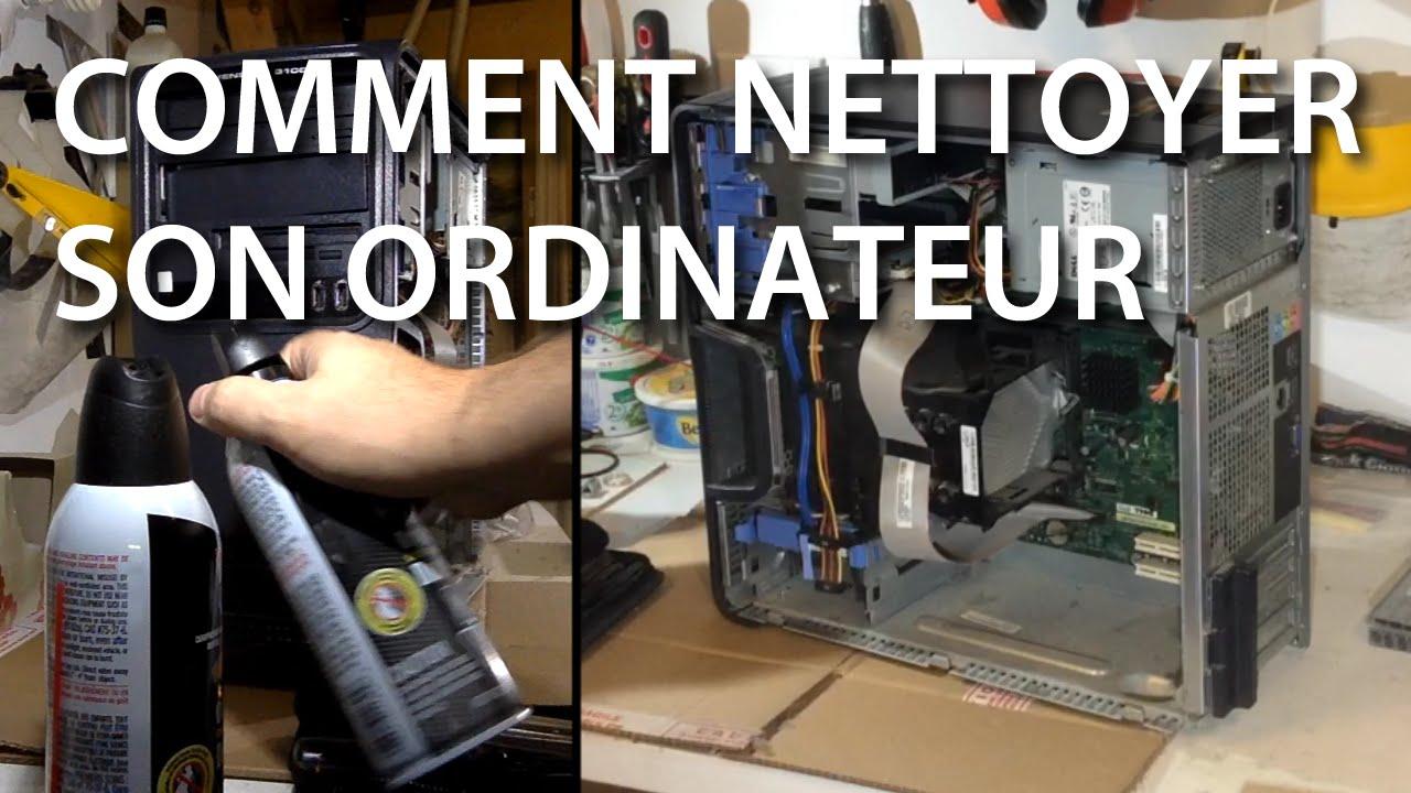 Nettoyage d 39 un ordinateur personnel de type tour youtube for Combien coute un nettoyage d ordinateur