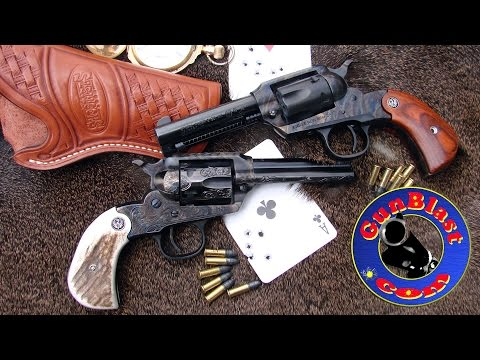 Shooting the Ruger New Bearcat 22 LR Single-Action Revolver