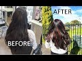 1st Time Coloring My Hair | Funny Hair Color Story | I got Red Highlights Done