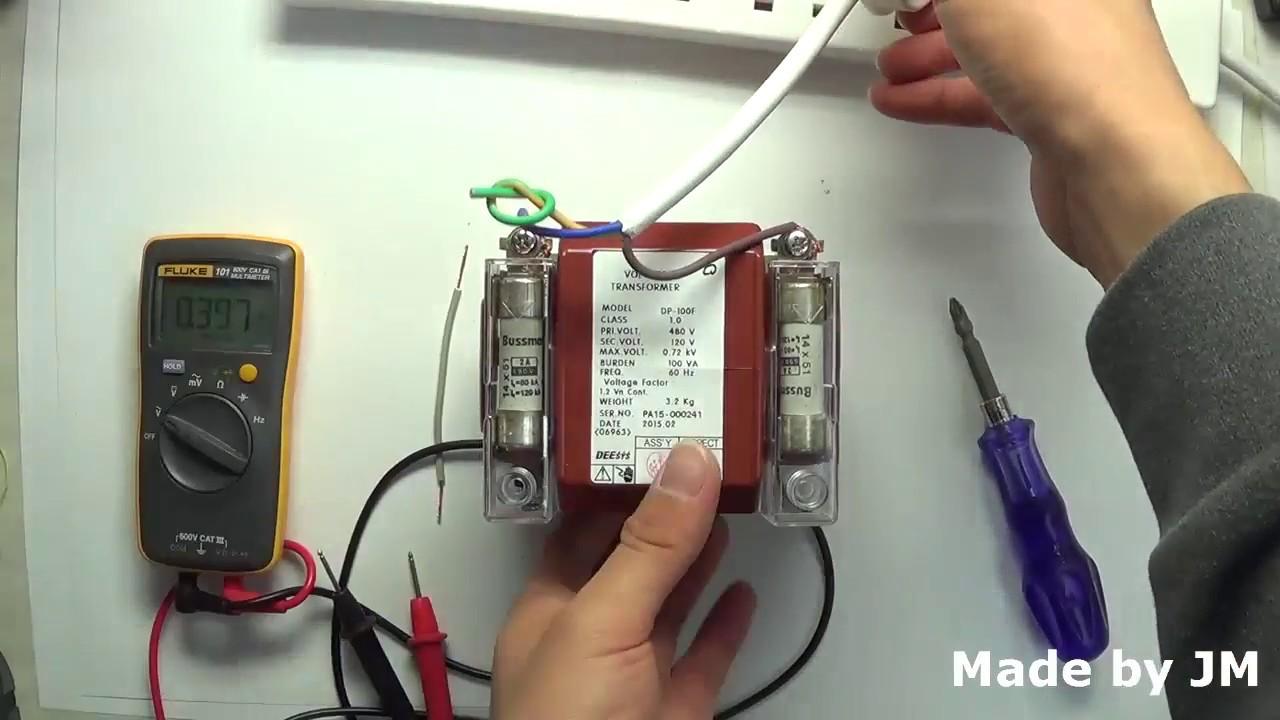 How To Check The Transformer Polarity Testing 480v