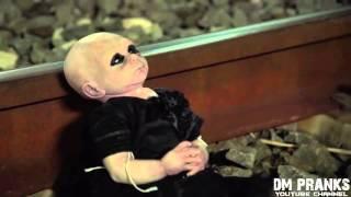 Ребенок демон. Страшный пранк