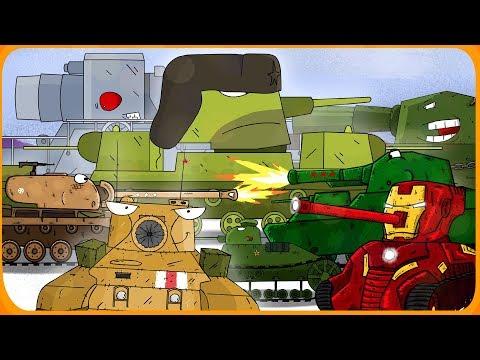 Top 15 Cartoons about tanks