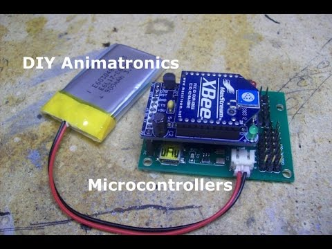 Diy Animatronics Episode Microcontrollers