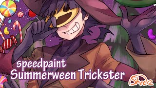 Gravity Falls - Summerween Trickster (Humanized) Speedpaint