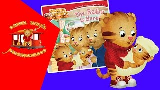 Daniel Tiger Book 'The Baby Is Here!' | Storytime Tuesday