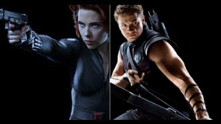 THE AVENGERS | Interview with Black Widow and Hawkeye