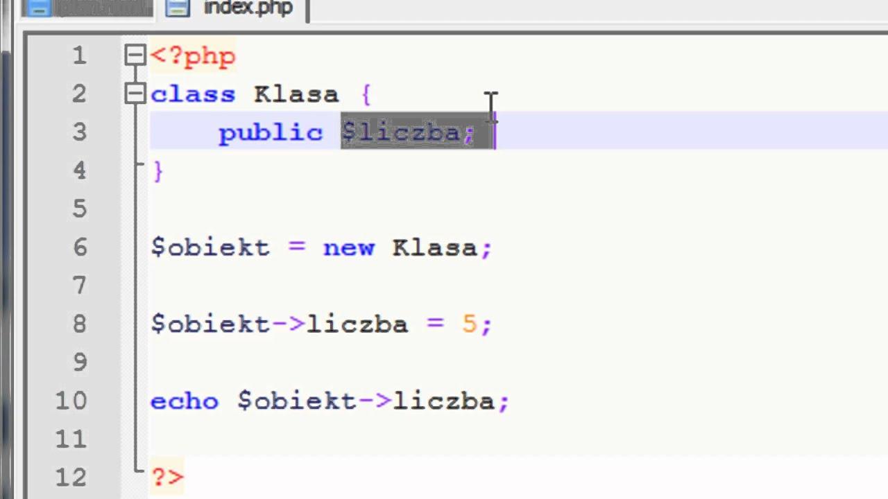 PROGRAMOWANIE OBIEKTOWE W PHP PDF