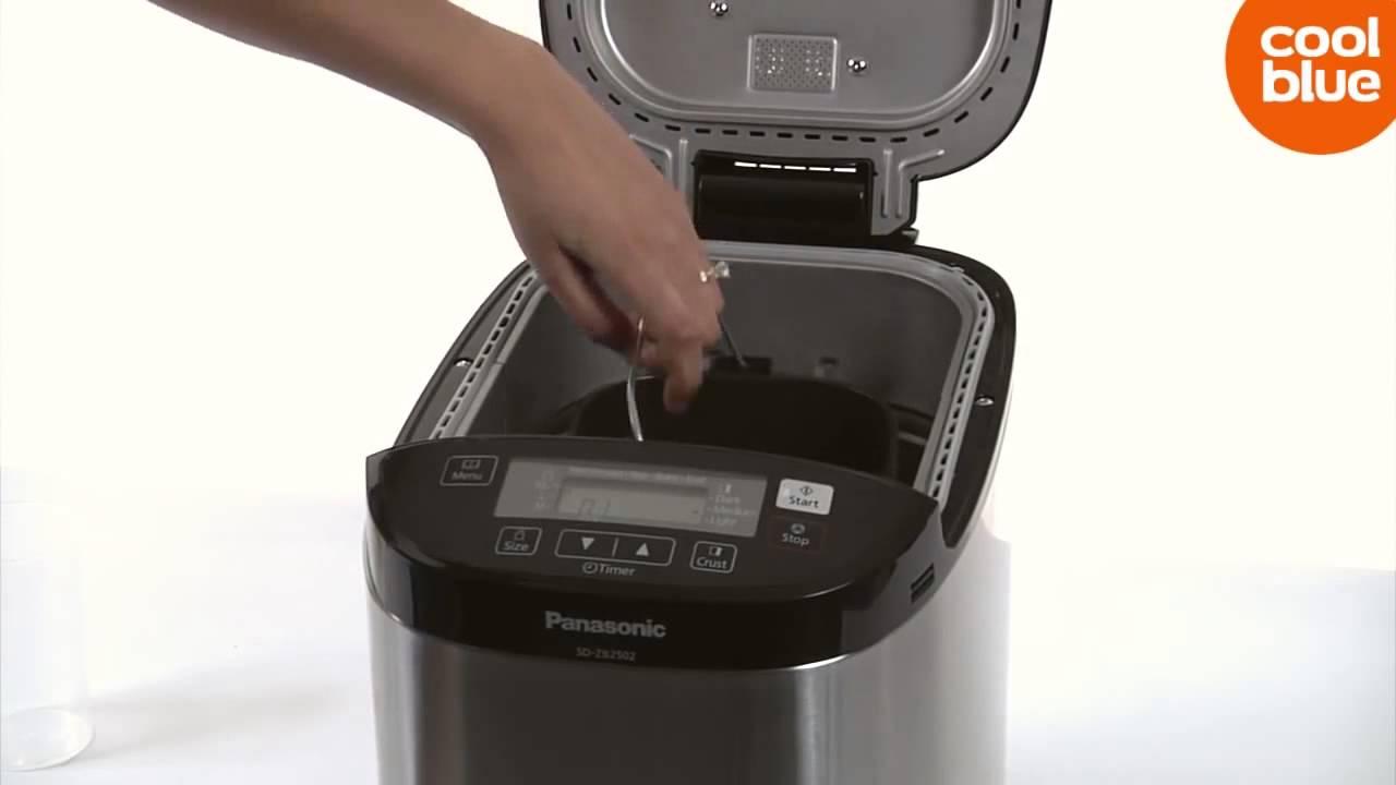 Spiksplinternieuw Panasonic SD-ZB2502BXE broodbakmachine (NL/BE) - YouTube ZP-25