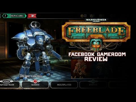 Warhammer 40k Freeblade & Facebook Gameroom Review